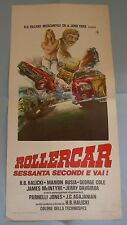 LOCANDINA, ROLLERCARGone in 60 Second HALICKI, COLE, AGAJANIAN, AUTO, CAR POSTER