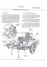 HANDBOOK Copy of Military Airborne field Generator Willys Jeep Coventry Climax