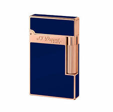 S.T. DUPONT ACCENDINO LIGHTER LIGNE 2 016496 PINK GOLD FINISH NATURAL LACQUER