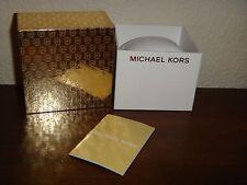 MICHAEL KORS JEWELRY BRACELET GIFT BOX MK Monogram~Size 3.1 in x 2.5 in x 3.1 in
