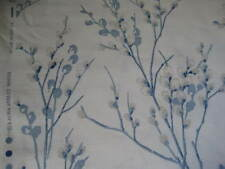 Laura Ashley Pussy Willow Off White/Seaspray Floral Fabric Material (Per Metre)