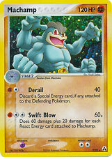 Machamp Holo Rare Pokemon Card EX-Legend Maker 9/92