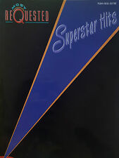 Most Requested Superstar Hits (Piano/Vocal/Guitar Songbook) OUT OF PRINT, MINT!