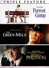 Forrest Gump/The Green Mile/Road to Perdition (Dvd, 2015, 3-Disc Set)