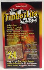24 Pack Fire Starter Squares For Big Green Egg Kamado Bbq Smoker Grill Food Safe