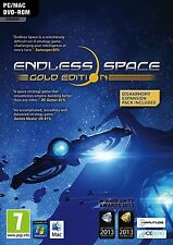 ENDLESS SPACE GOLD EDITION PC AND MAC DVD BRAND NEW AND SEALED