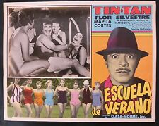 "TIN TAN  ""ESCUELA PARA SUEGRAS"" MARTHA MIJARES LOBBY CARD PHOTO 1956"