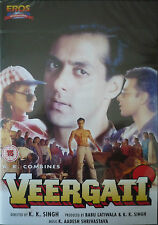 VEERGATI - BOLLYWOOD DVD - SALMAN KHAN - Eros Bollywood indian movie dvd