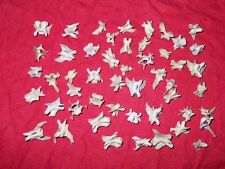 Real Mink Bones small animal Vertebrae spine collection Skeleton 75 plus pieces