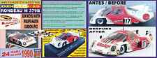 ANEXO DECAL 1/43 RONDEAU M 379B MARTIN/MARTIN/SPICE LE MANS 1980 (07)