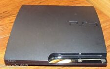 Sony PlayStation 3 Slim Charcoal Black 160GB NTSC Console Game System CECH-2501A