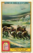6 Cards c1928 The Conquest of the Nord Pole Amundsen Frithhof Nanse Andrée Nobil