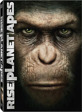 Rise of the Planet of the Apes (2011, REGION 1 DVD New) WS