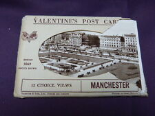 14 cartes postales angleterre ,manchester