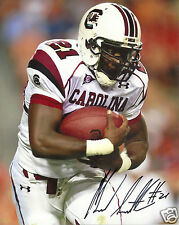 MARCUS LATTIMORE SOUTH CAROLINA SIGNED 8X10 PHOTO W/COA AND PROOF 5