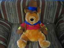 "21"" plush Halloween Cowboy Winnie the Pooh doll, good condition"