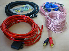 1000 W calibre 10 completo coche Amp Amplificador Cable Speaker Subwoofer Kit De Cables