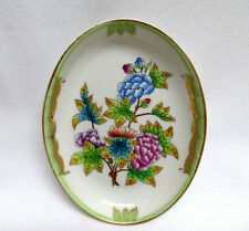 Herend Porcelain QUEEN VICTORIA VBO Pin Tray / Ashtray / Dish