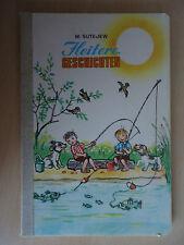 altes Bilderbuch Heitere Geschichten Sutejew / Bildgeschichten / Malysch Moskau