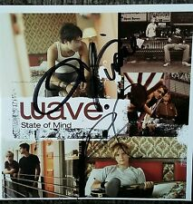 Wave State Of Mind CD Signed By Band Christian Music Out Of Print Rare!