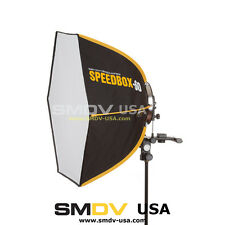 "SMDV SPEEDBOX-S60 - 60cm (24"") Quick Folding Hexagon Softbox for Speedlight"