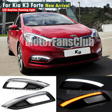 LED Daytime Running Light For Kia Forte K3 Cerato DRL Fog 2013 2014 2015 Signal