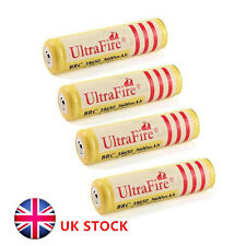 4x UltraFire 18650 3600mAh 3.7V Rechargeable Li-ion Battery for Flashlight torch