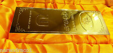 Gold Bar Shape Metal Cigarette Lighter