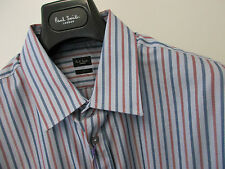 "Paul Smith ""LONDON COLLECTION"" Stripe Slim Fit 18"" Eu45 RRP £150"