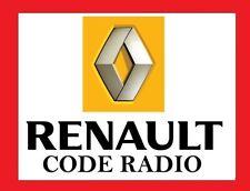 Code Autoradio Renault - envoi hyper rapide sous 2h !! 9h a minuit