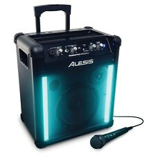 Alesis TransActive Wireless 2 Portable Bluetooth DJ PA Speaker with LED Lights