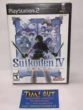 SUIKODEN IV 4 NTSC USA NUOVO NEW SEALED