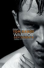 Warrior movie poster - Tom Hardy poster - 13 x 20 inches - Boxing
