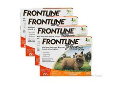 Frontline Plus for Dogs 0-22 lbs 12 Pack Genuine USA