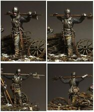 Landsknecht, XV c. swiss warrior,  54mm, BAUSATZ!!!!!