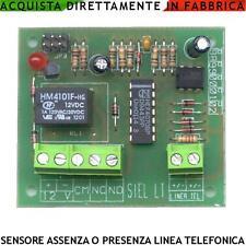 Sensore Presenza Linea Telefonica Allarme Mancanza Rete Telefonica Relè Sirena