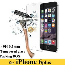 100% GENUINE TEMPERED GLASS SCREEN PROTECTOR PROTECTION FOR APPLE iPHONE 6 PLUS