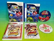 Super Mario Galaxy 1 + Mario Strikers Charged Soccer - Nintendo Wii and Wii U