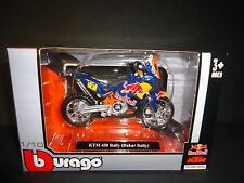 Bburago KTM 450 Dakar Rally Red Bull 1/18