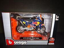 Bburago KTM 450 Dakar Rally Red Bull 1/18
