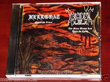 Hellgoat / Legions Of Astaroth: Split Limited CD 2005 Vile Art Records VAR-004