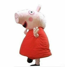Adult size suit Actual photo peppa pig mascot Costume EPE Head+Fast Shipping