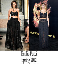 Emilio Pucci Black Maxi Skirt/dress