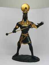 Egyptian Ra Solar Deity Statue Egypt Collectible.Ancient Egypt Sun God Figurine