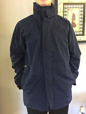 NWOT PROPPER GORE TEX US AIR FORCE MILITARY Rain Coat Jacket Hood M/L NAVY