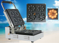New 1090W Commercial 4 Lattice Electric Donut Making Machine Flour Donut Maker .