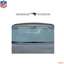 Brand New NFL New England Patriots Car Truck SUV Windshield Window Decal Sticker