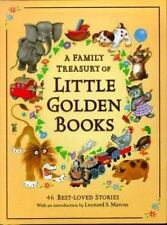 A Family Treasury of Little Golden Books: 46 Best-Loved Stories by Ellen Lewis