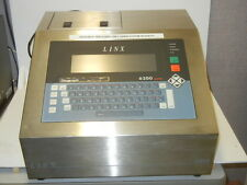 LINX PRINTING TECHNOLOGIES MODEL 6200 USED DIAGRAPH LABELING SYSTEM 6200