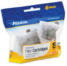 AQUEON FILTER CARTRIDGE SMALL. FOR MINI BOWS 6PK
